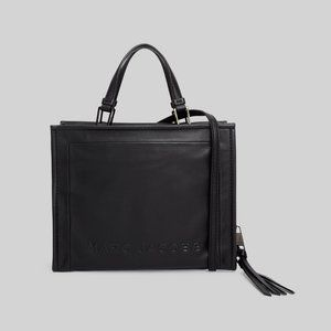 Marc Jacobs Box Leather Shopper WITH DUSTER BAG
